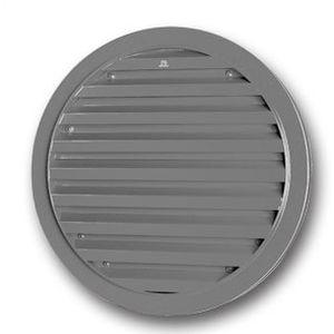 griglia di ventilazione in alluminio / rotonda