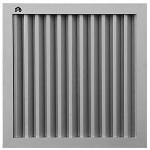 griglia di ventilazione in alluminio / quadrata