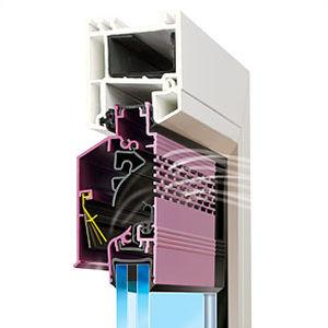 aeratore da finestra impermeabile / autoregolabile