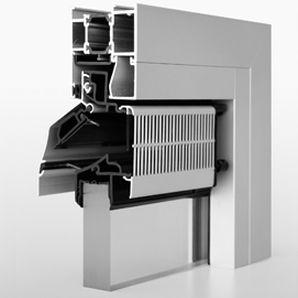 aeratore da finestra acustico / autoregolabile / a taglio termico