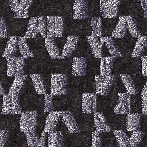 tessuto da tappezzeria / a motivi / in poliestere / in lana