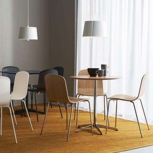 tavolo da bistrot moderno / in marmo / in quercia / in laminato