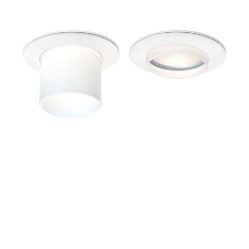 plafoniera moderna / tonda / in vetro / in ghisa di alluminio
