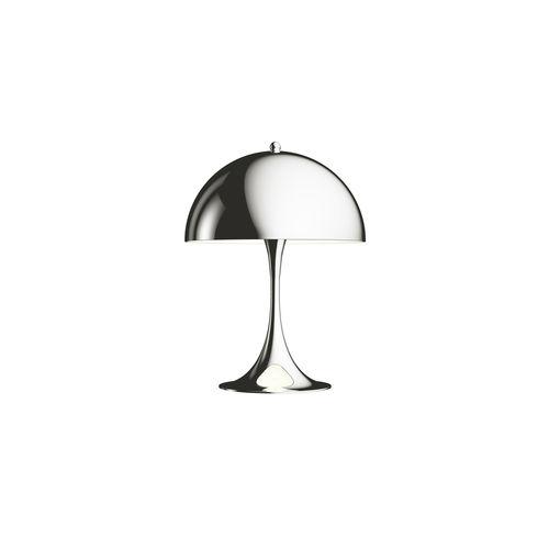 lampada da tavolo / moderna / in alluminio / in metallo cromato