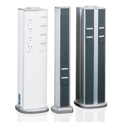 colonna di distribuzione elettrica / fissa / alta
