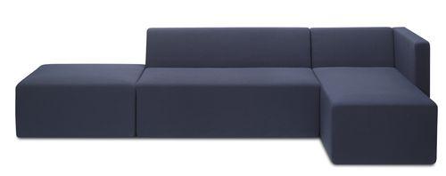 divano modulare / moderno / in tessuto / per edifici pubblici