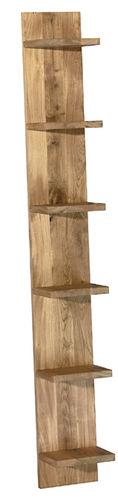 mensola / moderno / in quercia / in legno massiccio