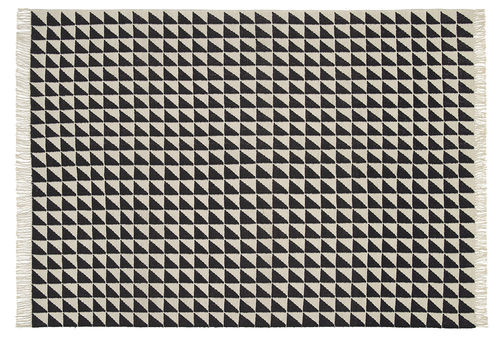 tappeto moderno / motivo geometrico / in lana / rettangolare