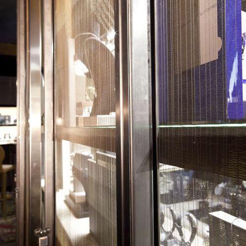 tela metallica per parete - TESSITURA TELE METALLICHE ROSSI OLIVIERO