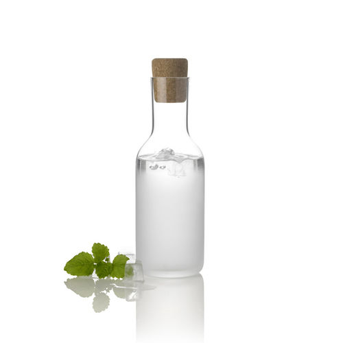 caraffa in vetro soffiato / contract / per uso domestico