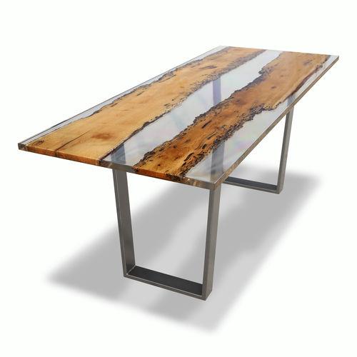 tavolo da lavoro moderno / in legno / in resina / rettangolare