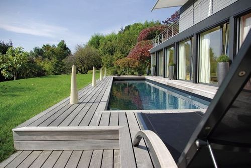 piscina interrata / in calcestruzzo / da esterno