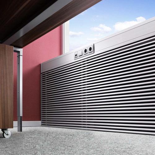 canalina di cablaggio in alluminio / in acciaio / a muro / residenziale