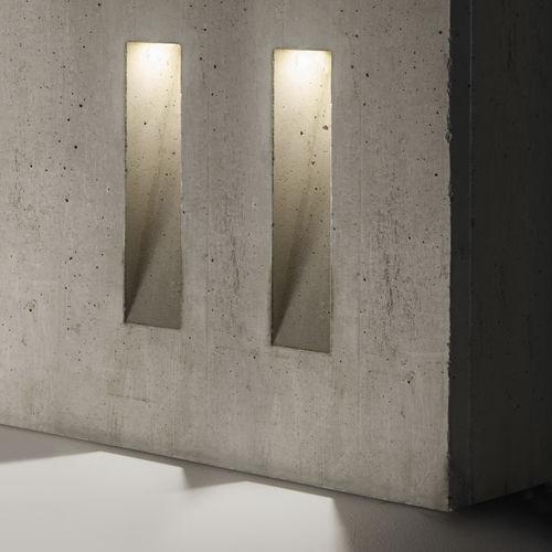 luce da incasso a muro / LED / rettangolare / da esterno