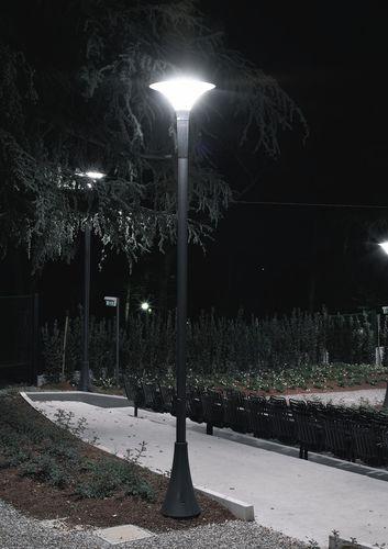 lampione urbano / moderno / in ghisa di alluminio / in PMMA