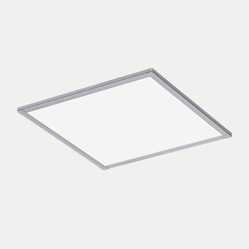 Luce da incasso a soffitto / LED / quadrata / in alluminio anodizzato FLAT  ES-SYSTEM