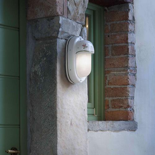 applique classica / da esterno / in ceramica / in vetro