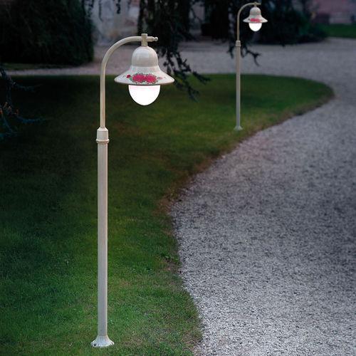 lampione da giardino / classico / in metallo / a incandescenza
