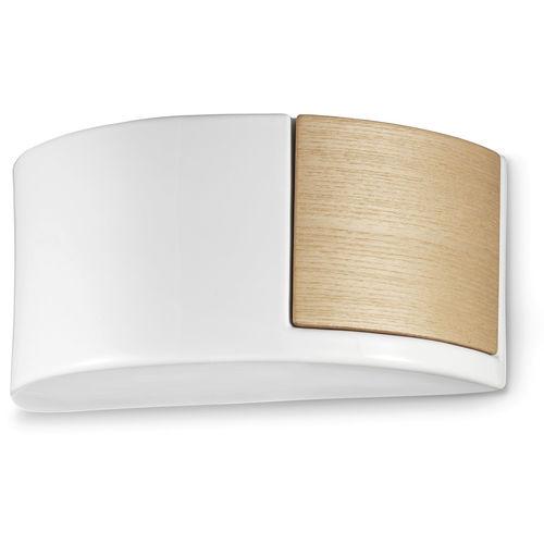 applique moderna / in legno / in ceramica / a incandescenza