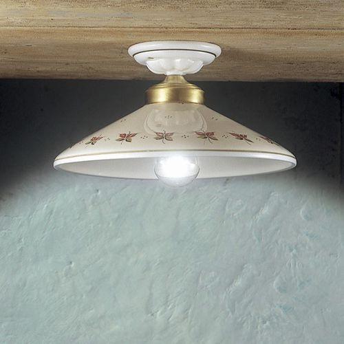 plafoniera classica / in vetro / in metallo / in ceramica
