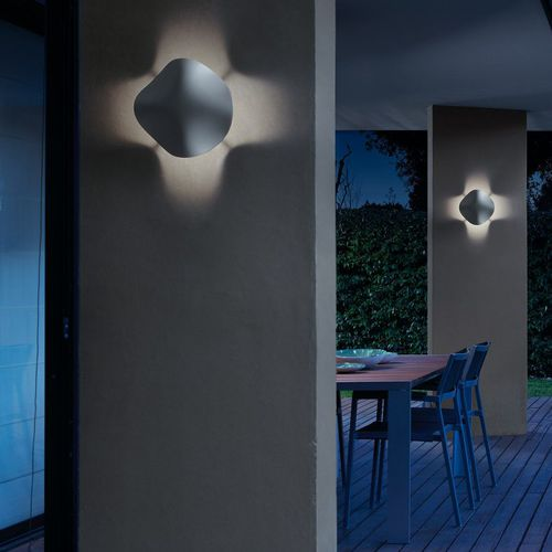 applique moderna / da esterno / in poliuretano / LED