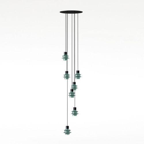 lampada a sospensione / moderna / in vetro soffiato / in vetro borosilicato