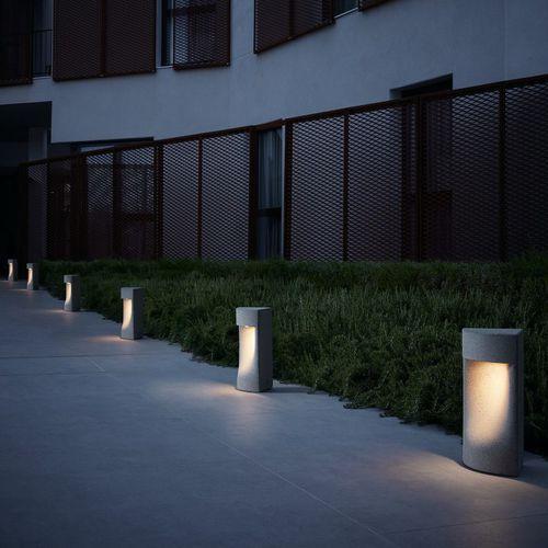 lampioncino da giardino / moderno / in calcestruzzo / LED