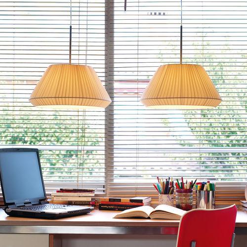 lampada a sospensione / moderna / in cotone / in ferro