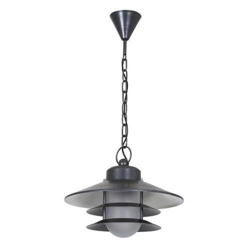 lampada a sospensione / classica / in alluminio / in acciaio