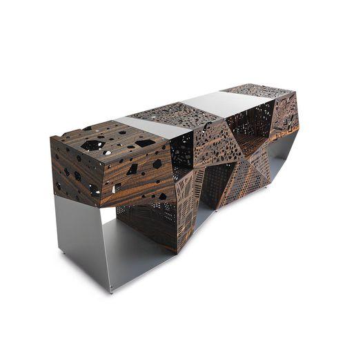 credenza design originale / in legno