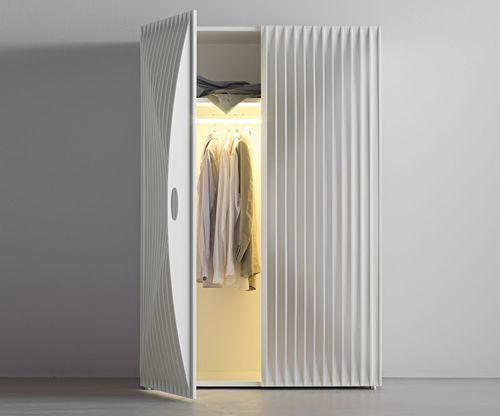 armadio design originale / in MDF / con ante battenti / di Karim Rashid