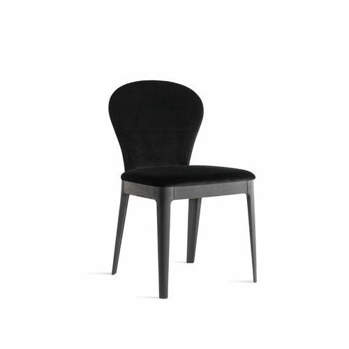 sedia classica / imbottita / in legno