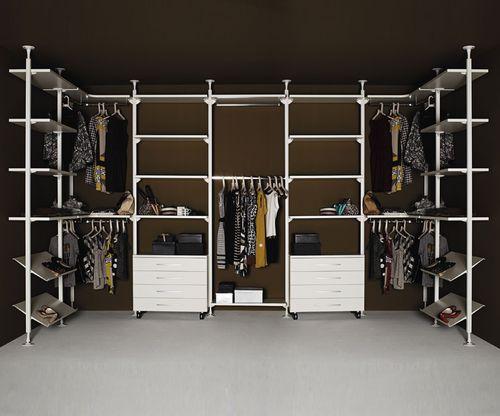 cabina armadio ad angolo / moderna