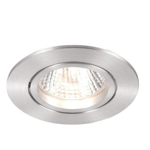 downlight da incasso a soffitto / alogeno / tondo / in alluminio