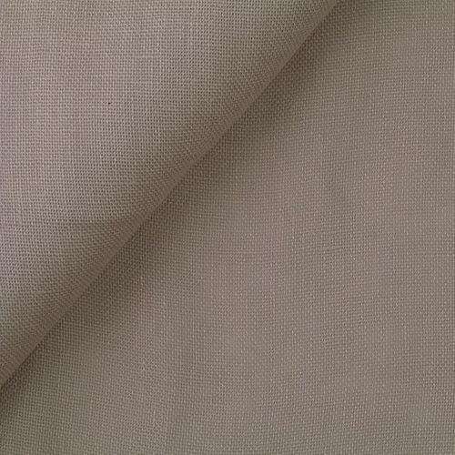 tessuto per tende / a tinta unita / in lino / traslucido