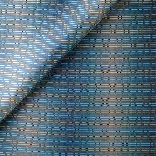 tessuto per tende / a motivi / in seta / in poliestere