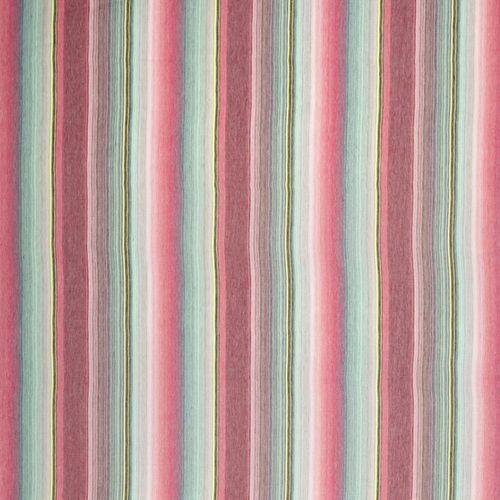 tessuto per tende / a righe / in lino