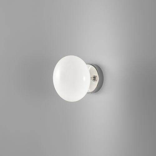 Applique moderna / in metallo / in vetro / LED DOLCE : 260.301.02 METAL LUX