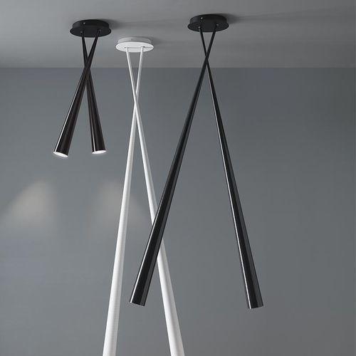 plafoniera moderna / in fibra di vetro / LED / da interno