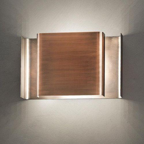 applique moderna / in metallo verniciato / in legno / LED