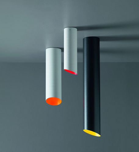 lampada a sospensione / design originale / in fibra di vetro / LED