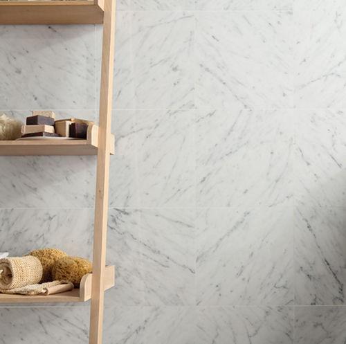 piastrella da interno / da parete / in marmo / rettangolare