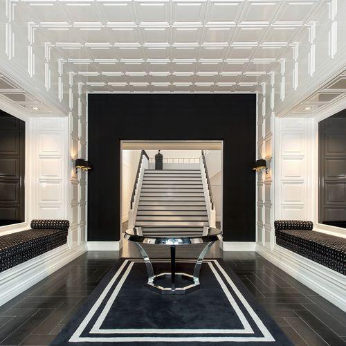 pannello decorativo di rivestimento / acrilico / per interni / da parete