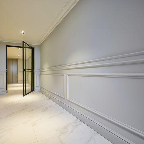 pannello decorativo di rivestimento / in polistirene / in poliuretano / per interni