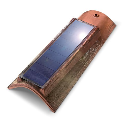 tegola fotovoltaica / in terracotta