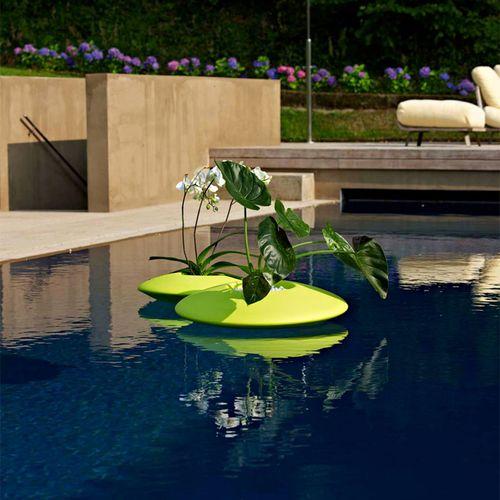 Vaso da giardino in polietilene / rotondo NINFEA by Alessandro Busana PLUSt COLLECTION by EURO 3 PLAST