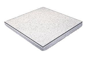 pavimento sopraelevato in alluminio / da interno