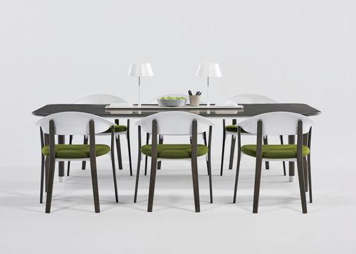 tavolo da lavoro moderno / in legno / rettangolare