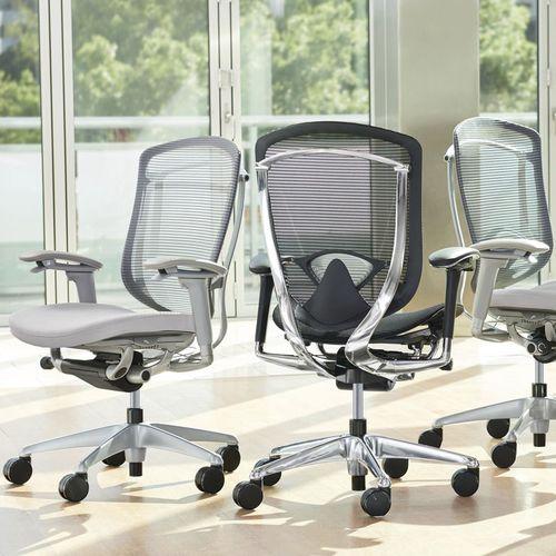 sedia da ufficio moderna / con rotelle / con braccioli / girevole
