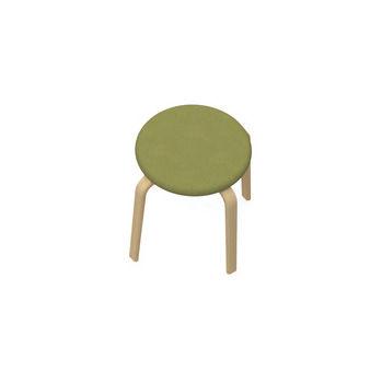 sgabello moderno / in legno / in plastica / contract